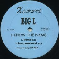 Big L - I Know The Name / Flamboyant (Rmx)