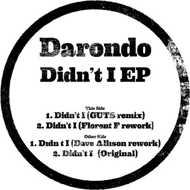 Darondo - Didn't I Edits EP