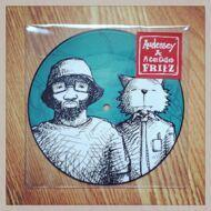 Audessey & A Cat Called Fritz - By Design (Picture Disc)