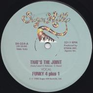 Funky 4 Plus 1 - That's The Joint