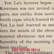 Ka - Days With Dr. Yen Lo
