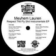 Meyhem Lauren - Respect The Fly Shit Instrumentals EP (Blue Vinyl)