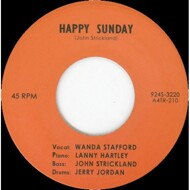 Wanda Stafford - Happy Sunday / Blue Guitar