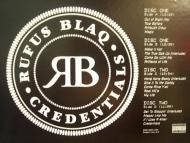 Rufus Blaq - Credentials