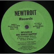 Spyder-D - Big Apple Rappin'