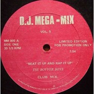 The Bovver Boys - Beat It Up And Rap It Up (DJ Mega-Mix Vol.5)