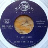 The James Hunter Six - If I Only Knew / Heartbreak (Black Vinyl)
