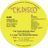KC & The Sunshine Band - I'm Your Boogie Man (Todd Terje EDIT) (RSD 2015 Release)