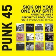 Various - Punk 45 - Vol.3: Proto-Punk 1969-76